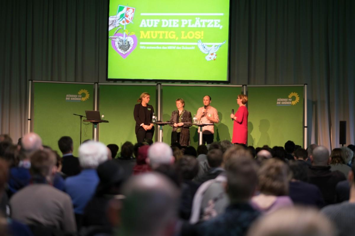 Talk mit Sylvia Löhrmann und den Landesvorsitzenden