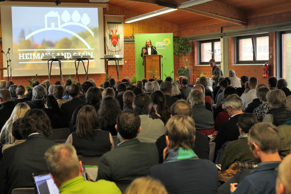 Die Veranstaltung fand im Bildungszentrum der Landwirtschaftskammer NRW, Haus Düsse, statt.