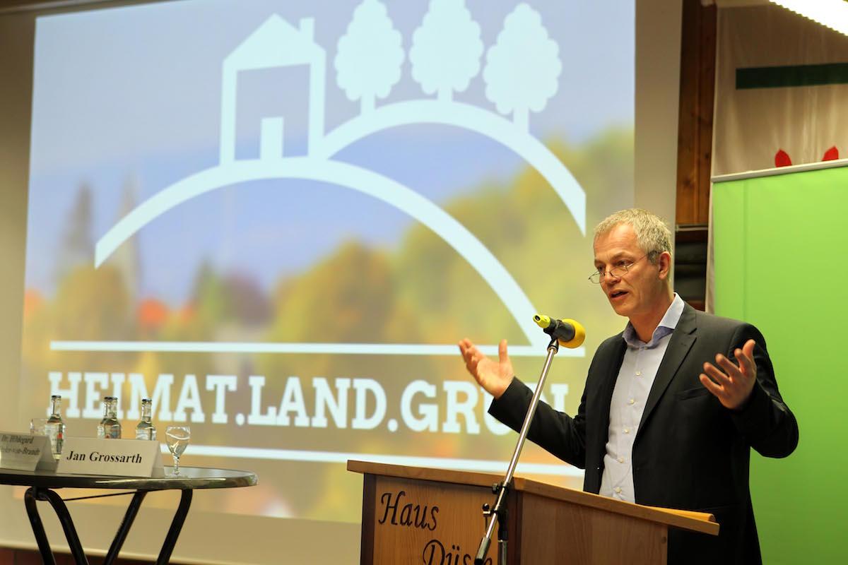 NRW-Umweltminister Johannes Remmel bei seiner Rede.