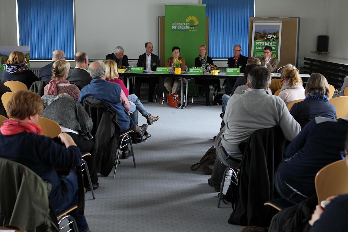 Die Teilnehmer*innen diskutierten auch im Hinblick auf das GRÜNE Landtagswahlprogramm für 2017.