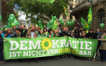 Anti-TTIP-Demo in Hannover