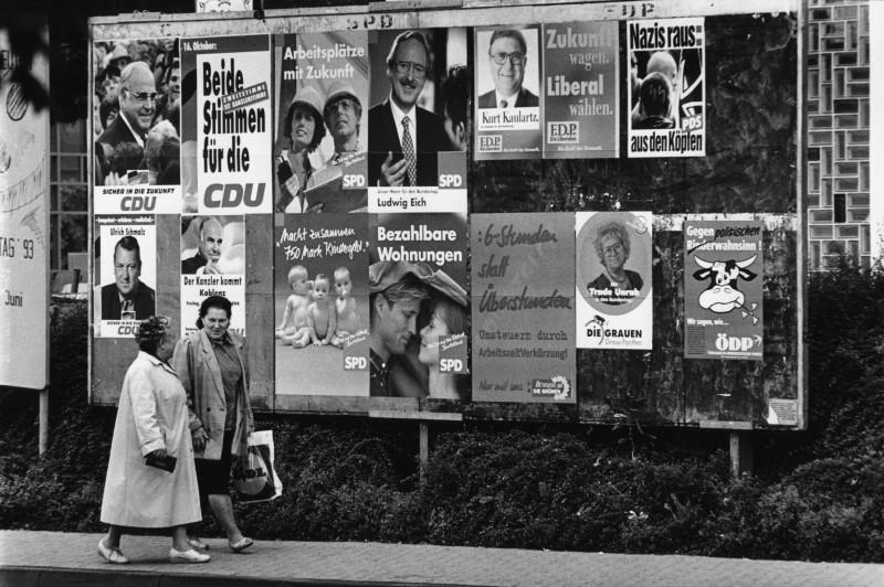 Historische Wahlplakate