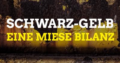 Schwarz-Gelb – eine miese Bilanz.