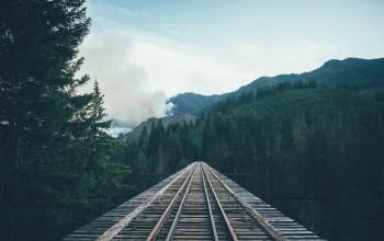 Foto: Bahnbrücke