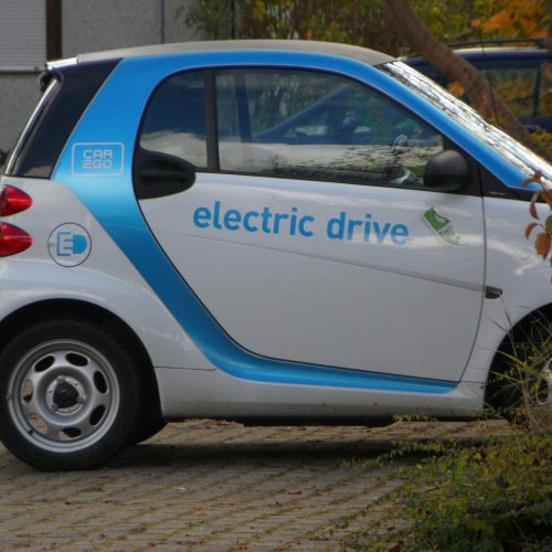 Car to Go mit Elektroantrieb