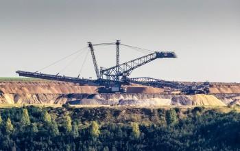 Kohle Tagebau