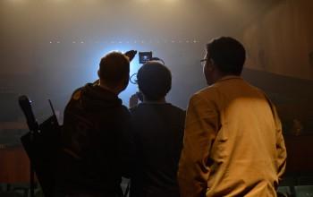 Foto: Videodreh des GRÜNEN Wahlspots