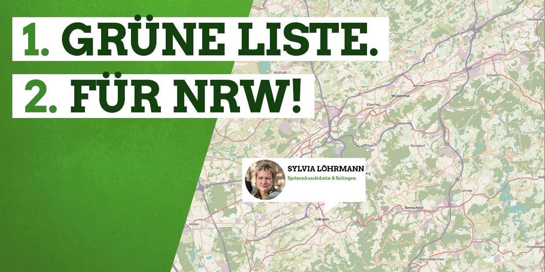 Die Grüne Landesliste zur Landtagswahl
