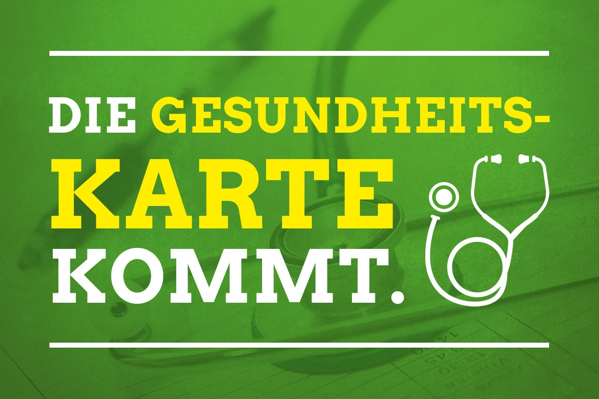 Sharepic: Die Gesundheitskarte für NRW kommt
