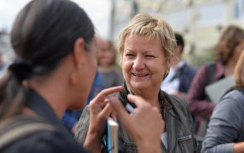 Sylvia Löhrmann im Gespräch