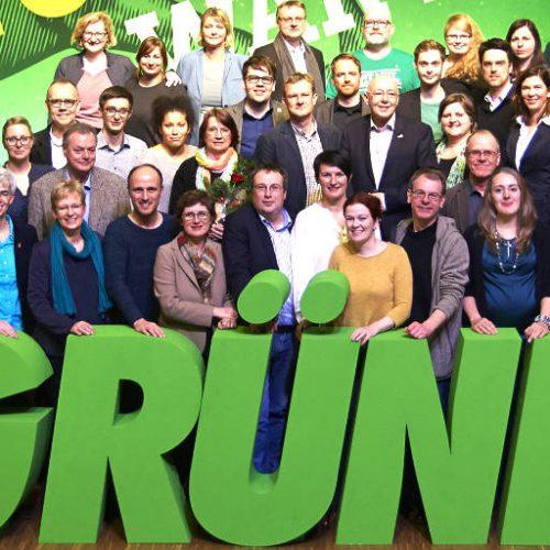 Grüne Liste zur Bundestagswahl 2017