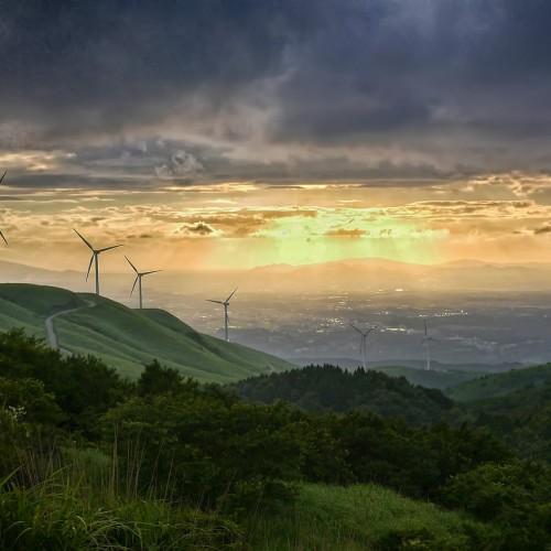 Windkraft Windräder